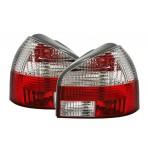Heckleuchten Audi A3 8L Rot Weiss