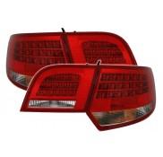 Heckleuchten Audi A3 8PA Sportback Rot Weiss