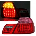 Heckleuchten Bmw 3er M3 E46 LED Klarglas Rot Coupe