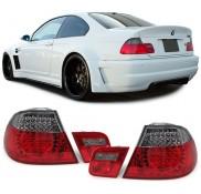 Heckleuchten Bmw 3er M3 E46 LED Klarglas Schwarz Coupe