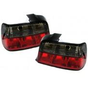 Heckleuchten Bmw 3er M3 E36 Limousine Rot / Schwarz / Kristall